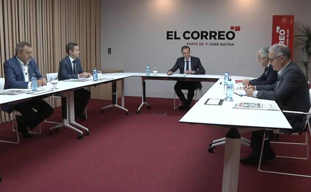 Gorka Barrenetxea acude a un foro sobre fertilidad organizado por El Correo