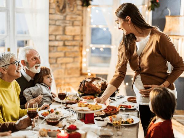 Embarazo y Navidad,  ¿debo vigilar mi alimentación?